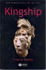 Kingship 1st Edition 9780631226963 0631226966