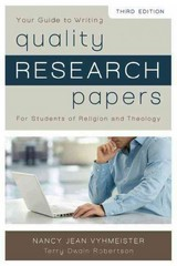 Quality Research Papers 3rd Edition 9780310514022 0310514029