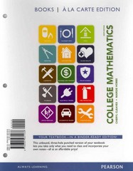 College Mathematics, Books a la Carte Edition Plus MyMathLab -- Access Cards Package 9th Edition 9780321924018 0321924010