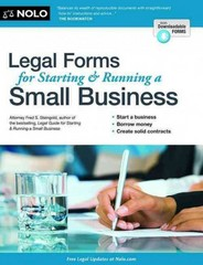 Legal Forms for Starting and Running a Small Business 8th Edition 9781413319637 1413319637