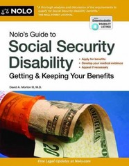 Nolo's Guide to Social Security Disability 7th Edition 9781413319675 141331967X