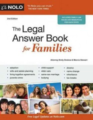 The Legal Answer Book for Families 2nd Edition 9781413319750 1413319750