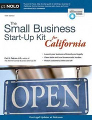 The Small Business Start-Up Kit for California 10th Edition 9781413319798 1413319793