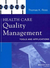 Health Care Quality Management 1st Edition 9781118603642 1118603648