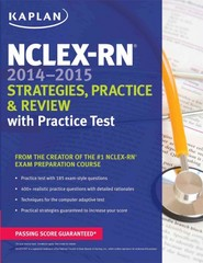 NCLEX-RN 2014-2015 Strategies, Practice, and Review with Practice Test 1st Edition 9781618653796 1618653792