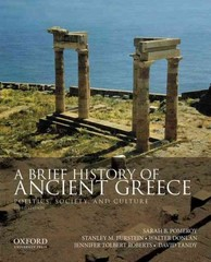 A Brief History of Ancient Greece 3rd edition 9780199981557 0199981558
