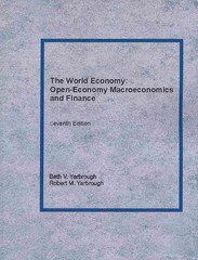 The World Economy 7th Edition 9781489538130 1489538135