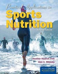 Practical Applications in Sports Nutrition 4th Edition 9781449690052 144969005X