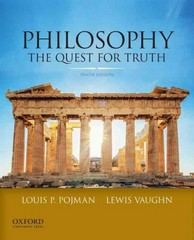 Philosophy 9th Edition 9780199981083 0199981086