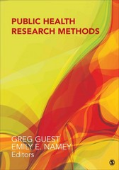 Public Health Research Methods 1st Edition 9781452241333 1452241333