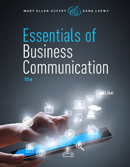 Essentials of Business Communication (with Premium Website, 1 term (6 months) Printed Access Card) 10th Edition 9781285858913 1285858913