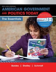 American Government and Politics Today 18th Edition 9781285853154 1285853156