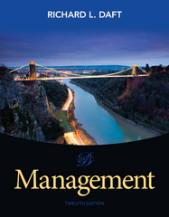 Management 12th Edition 9781285861982 1285861981