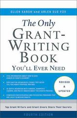 The Only Grant-Writing Book You'll Ever Need 4th Edition 9780465058938 0465058930
