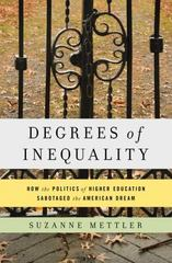 Degrees of Inequality 1st Edition 9780465044962 0465044964