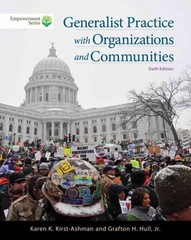Brooks/Cole Empowerment Series: Generalist Practice with Organizations and Communities (Book Only) 6th Edition 9781285465371 1285465377