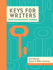Keys for Writers with Assignment Guides, Spiral bound Version 7th Edition 9781285769608 1285769600
