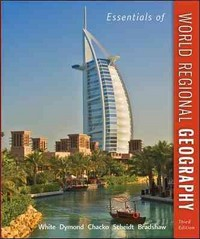 Essentials of World Regional Geography 3rd Edition 9780073369358 0073369357