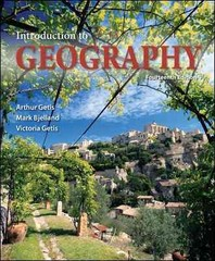 Introduction to Geography 14th Edition 9780073522883 0073522880