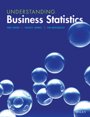 Understanding Business Statistics 1st Edition 9781118799147 1118799143