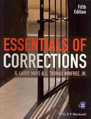 Essentials of Corrections 5th Edition 9781118537213 1118537211