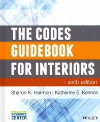 The Codes Guidebook for Interiors 6th Edition 9781118809365 111880936X