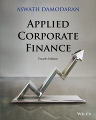 Applied Corporate Finance 4th Edition 9781118808931 1118808932