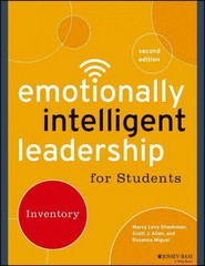Emotionally Intelligent Leadership for Students 2nd Edition 9781118973790 1118973798