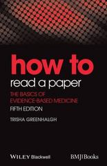How to Read a Paper 5th Edition 9781118800966 1118800966