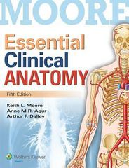 Essential Clinical Anatomy 5th Edition 9781451187496 1451187491