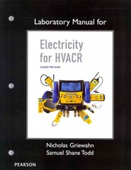 Lab Manual for Electricity for HVACR 1st edition 9780135125366 0135125367