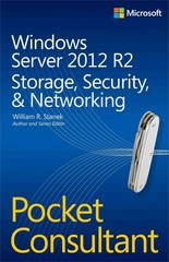 Windows Server 2012 R2 Pocket Consultant Volume 2 1st Edition 9780735682597 0735682593