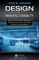 Design for Manufacturability 1st Edition 9781482204940 1482204940