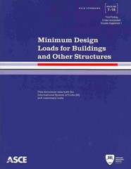 Minimum Design Loads for Buildings and Other Structures, Third Printing 3rd Edition 9780784412916 078441291X
