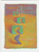 Fundamentals of Abnormal Psychology 0 9780716727170 071672717X