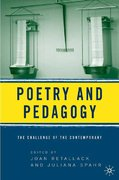 Poetry and Pedagogy 1st edition 9781403969125 1403969124