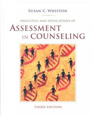 Principles and Applications of Assessment in Counseling 3rd Edition 9780495501978 0495501972