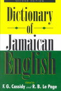 A Dictionary of Jamaican English 2nd edition 9789766401276 9766401276