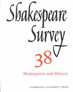Shakespeare and History 0 9780521523769 0521523761