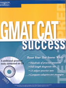 GMAT CAT Success 2003 0 9780768909555 0768909554
