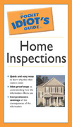 The Pocket Idiot's Guide to Home Inspections 0 9781592572168 1592572162