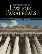Introduction to the Law for Paralegals 1st edition 9780073511795 007351179X