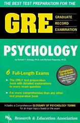 Gre Psychology 1st Edition 9780878915996 0878915990
