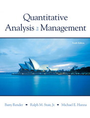 Quantitative Analysis for Management 10th Edition 9780136036258 0136036252