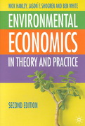 Environmental Economics 2nd edition 9780333971376 033397137X