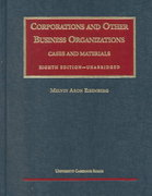 Cases and Materials on Corporations and Other Business Organizations 8th edition 9781566628990 1566628997
