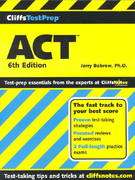 CliffsTestPrep ACT 6th edition 9780764586132 0764586130