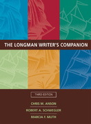 The Longman Writer's Companion (With MyCompLab) 3rd edition 9780321323484 0321323483
