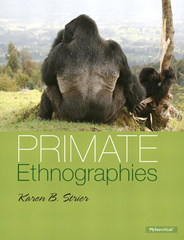 Primate Ethnographies 1st Edition 9780205214662 0205214665