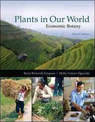 Plants in Our World 4th Edition 9780073524245 0073524247